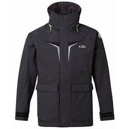 Gill Men's OS3 Coastal Size XX-Large Graphite Jacket, Size: 2XL, Gray