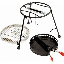 Campmaid Grill & Smoker 3 Piece Set - Dutch Oven Cooking Accessories By Sportsman's Warehouse