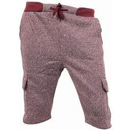Ma Croix Mens Jogger Cargo Shorts Fleece Slim Fit, Men's, Size: 2XL, Red