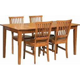 Copper Grove Clearwater Oak 5-Piece Dining Furniture Set