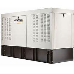 Generac Diesel Automatic Standby Generator, 120V AC/240V AC Model: RD01525JDAE
