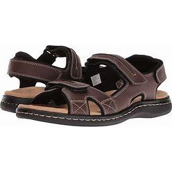 Dockers Newpage Quarter Strap Sandal Men's Shoes Briar : 12 EE - Wide