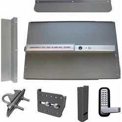 Lockeyusa Edge Panic Shield Kit Security - PB2500ALARM - Silver