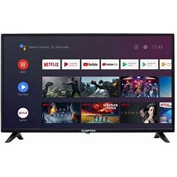 Sceptre 32 Inch Class HD (720p) Android Smart LED TV With Google Assistant (a328bv-sr) Size: 32 Inch, Black