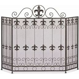 Zingz & Thingz French Revival Fireplace Screen, 4504797V