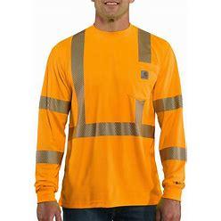 Carhartt Force High-Visibility Long-Sleeve Class 3 T-Shirt | Brite Orange | 2XL