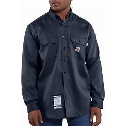 Carhartt Flame-Resistant Lightweight Twill Shirt | Dark Navy