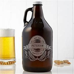Personalized Beer Growler - Brewing Company