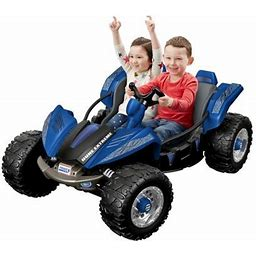 Power Wheels Dune Racer Extreme Blue Ride-On, Black
