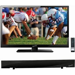 Supersonic 19 Inch Class - HD LED TV - 720p, 60Hz (sc-1911) And Sc-612 Hdtv Flat Digital Antenna