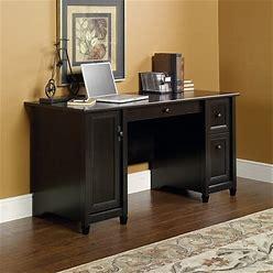 Sauder Edge Water Computer Desk - Estate Black