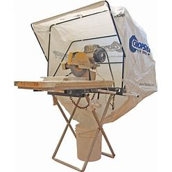 Fastcap Chopshop Dust + Debris Collection Saw Hood For Miter Saws, Chop Saws, Wet Saws + Lathes