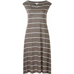 Richie House Women's Medium Style Striped Knit Dress Rhw2573, Size: Small, Pickle
