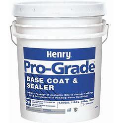Henry Roofing Base Coating/Sealant,5 Gal.,Gray Model: PG294073