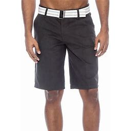 True Rock Men's Bahamas Belted Walking Shorts-WHITE17-38 (Char17, 30), Gray
