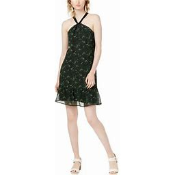 Maison Jules Womens A Flounce Dress, Women's, Size: 12