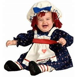 Ragamuffin Dolly Toddler Halloween Costume, Multicolor