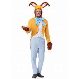 March Hare Costume For Men | Adult | Mens | Yellow/Orange/Blue | XL | FUN Costumes