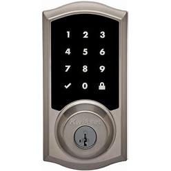 Kwikset Premis Touchscreen Smart Lock Satin Nickel Single Cylinder Electronic Deadbolt Featuring Smartkey Security