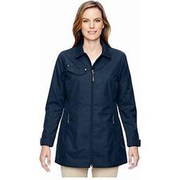 Ash City North End North End Ladies Excursion Ambassador Jacket, Style 78218, Women's, Size: Medium, Blue