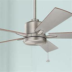 52 Bowen Pull Chain Brushed Nickel Ceiling Fan