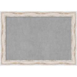 Amanti Art Framed Magnetic Board, Alexandria White Wash   DSW2972388