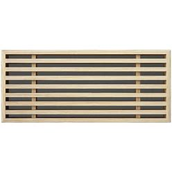 Linear Bar Inset - Flush Mount Wood Grilles - Ceiling & Wall