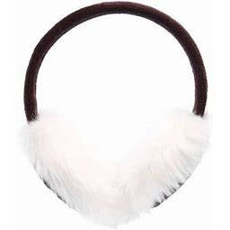 Women's Extra Warm & Soft Faux Fur Winter Ear Warmers Earmuffs, Khaki, Size: One Size, Beige