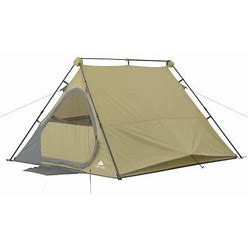 Ozark Trail 8' X 7' Four Person A-Frame Instant Tent, Brown