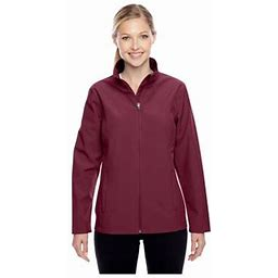Team 365 Ladies Leader Soft Shell Jacket, Style Tt80w, Women's, Size: XS, Red