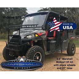 """Polaris Ranger Lift Kit 2.5"""" For 570 Crew 2020 Midsize Ranger Marshall Motoart"""