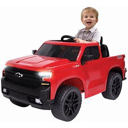 Kalee 6 Volt Red Chevy Silverado Trail Boss Pickup Truck