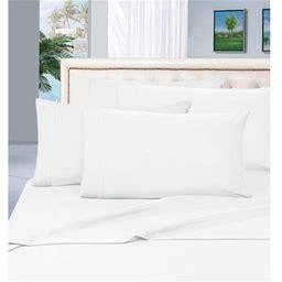 6-Piece Bed Sheet Set - 1500 Thread Count Silky Soft Sheet Set,Queen, Lilac/Lavender, Purple