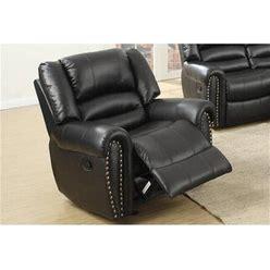 Recliner Chair With Nailhead Trim