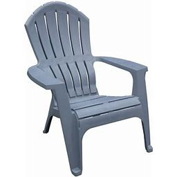Adams USA RealComfort Adirondack Chair, Bluestone, Gray