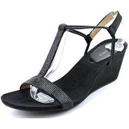 Style & Co. Style & Co Mulan 2 Women US 7 Tan Wedge Sandal, Women's, Size: 7B, Beige