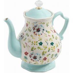 The Pioneer Woman Kari 2.4-Quart Tea Pot, Multicolor