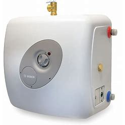 Bosch Commercial/Residential Mini Tank Water Heater, 7.0 Gal Tank Capacity, 120V, 1,440 W Total Watts Model: ES8