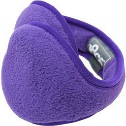 180s Youth Tec Fleece Pansy Ear Warmer (41510-220-01), Size: One Size, Other