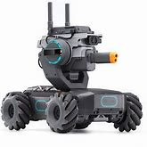 """DJI Robomaster S1 - Educational Robot STEM Programmable Science Learning Mini Car Remote Control Intelligent AI Scratch Python Coding 5MP 1/4"""" CMOS"""