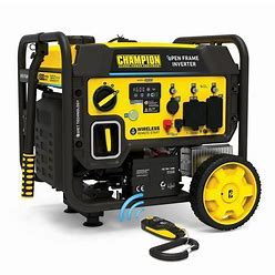 Champion Power Equipment Portable Generator, Inverter, Generator Fuel Type Gasoline, Generator Rated Watts 3,650 W Model: 201054