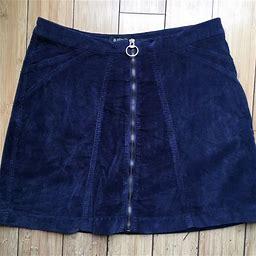 Buffalo David Bitton Skirts | Buffalo David Bitton High Rise Cadby Skirt Sz 29 | Color: Blue | Size: 29