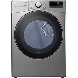 LG Thinq 7.4-Cu Ft Electric Dryer (Graphite Steel) ENERGY STAR | DLE3600V