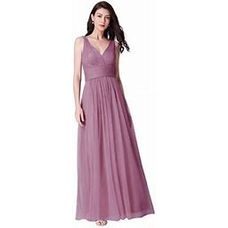 Ever-pretty Womens Sexy Dance Dresses For Party Wedding Bridesmaid Dresses For Women 07458 Orchid US 10, Women's, Purple