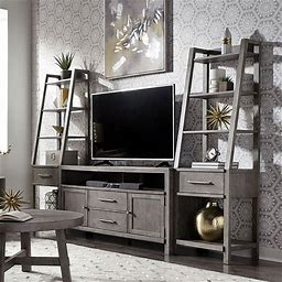 Modern Farmhouse Entertainment Wall By Liberty Furniture