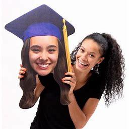 18 In. Graduation Big Head Cutout