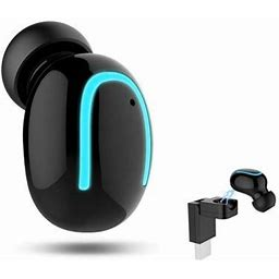 Waterproof Ipx5 Wireless Earbud, V4.2 Mini Bluetooth Earbud, Car Bluetooth Headset Invisible Headphone With Mic, 6-Hr Playing Time Cell Phone