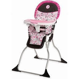 Safety 1st Disney Simple Fold Minnie High Chair In Garden Delight Multi - Safety 1st - High Chairs - Highchair - Multi