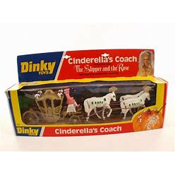 Dinky Toys GB 111 Cinderella's Coach Carriage Of Cinderella New Mint IN Gift Box