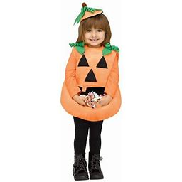 Candy Collector Pumpkin Toddler Costume, Toddler Girl's, Size: Large (3T/4T), Orange
